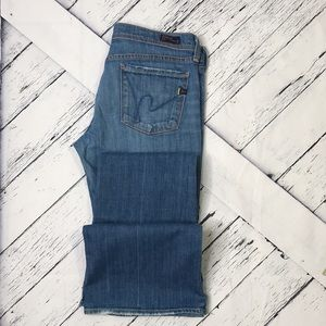 CITIZENS OF HUMANITY Ingrid Low Waist fFare Jeans